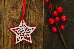 Ornates hermosos para la Navidad Imagen de archivo libre de regalías