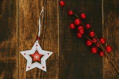 Ornates hermosos para la Navidad Foto de archivo
