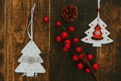 Ornates hermosos para la Navidad Fotos de archivo libres de regalías