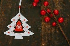 Ornates hermosos para la Navidad Fotografía de archivo libre de regalías