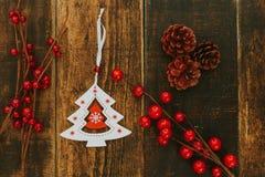 Ornates hermosos para la Navidad Imagenes de archivo