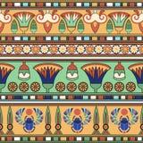 Ornement égyptien Ollection de ¡ de Ð Photographie stock