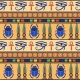 Ornement égyptien positionnement Photographie stock