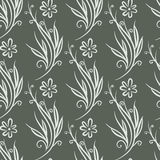 Ornement abstrait floral sans couture Photos stock