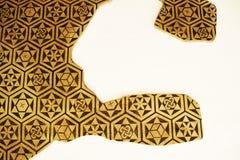 Ornement antique avec les modèles géométriques Photo libre de droits