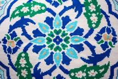 Ornement authentique tricoté photo libre de droits