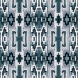 Ornement avec un modèle de répétition des formes géométriques Image stock
