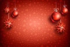 Ornement background2-04 de boule de Noël Photo libre de droits