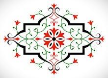 Ornement baroque de vecteur dans le style victorien Image stock