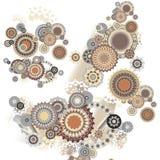 Ornement beige Image stock
