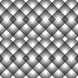Ornement britannique de plaid Ligne mince diagonale abstraite Art Pattern Photos stock