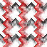 Ornement britannique de plaid Ligne mince diagonale abstraite Art Pattern Photographie stock