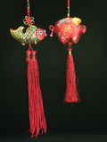 Ornement of chinese new year. (large format photo Royalty Free Stock Image