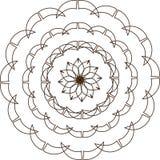 Ornement circulaire illustration libre de droits