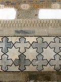 Ornement cruciforme 2007 de Samarkand Bibi-Khanim Photo libre de droits