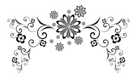 ornement décoratif Photographie stock libre de droits