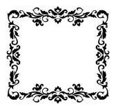 Ornement décoratif de cadre Images stock
