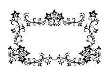 Ornement décoratif de cadre Photo stock