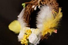 Ornement décoratif de fête de Pâques Photographie stock libre de droits