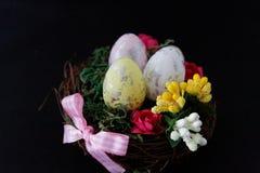 Ornement décoratif de fête de Pâques Images stock