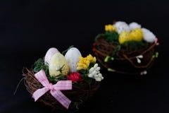 Ornement décoratif de fête de Pâques Photos libres de droits
