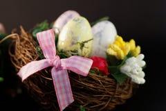 Ornement décoratif de fête de Pâques Image libre de droits