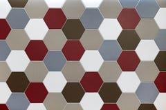 Ornement décoratif de mur de mosaïque de verre coloré Photo libre de droits