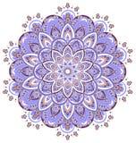 Ornement décoratif de vecteur de vintage Mandala fleuri illustration de vecteur