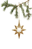 Ornement d'arbre de Noël Photos libres de droits