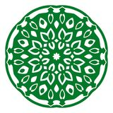 Ornement d'illustration de vecteur avec des motifs caucasiens illustration de vecteur