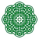Ornement d'illustration de vecteur avec des motifs caucasiens illustration libre de droits