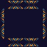 Ornement de е RGBGraphic de ‹du ½ Ñ du ² Ð du ¾ Ð du ½ Ð du  Ð de ÐžÑ ressemblant aux ailes des papillons comme cadre partiel s illustration libre de droits