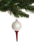 Ornement de bille de golf Photographie stock
