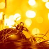 Ornement de boules de Noël - photos courantes Photographie stock libre de droits