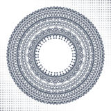 Ornement de cercle, dentelle ronde ornementale Photo stock