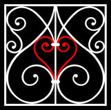 Ornement de coeur Illustration de Vecteur