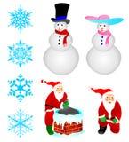 ornement de décoration de Noël illustration libre de droits