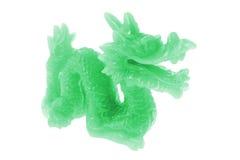 Ornement de dragon de jade Photos libres de droits