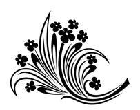 Ornement de fleurs. Photo libre de droits