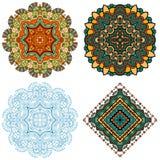 Ornement de Mandala Square Photographie stock libre de droits