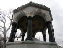 Ornement de marbre de l'orient de pilier image libre de droits
