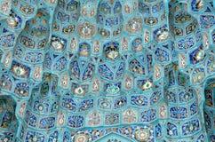 Ornement de mosquée Photo stock