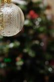 ornement de Noël de bille Photos libres de droits