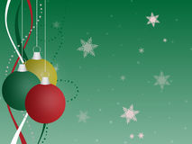 ornement de Noël de fond Photos stock