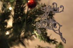 Ornement de Noël de renne Photographie stock libre de droits