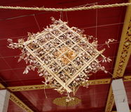 Ornement de temple Photo stock
