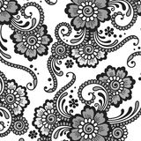 Ornement de vecteur de fleur illustration libre de droits