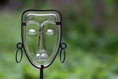 Ornement en verre de jardin Photographie stock libre de droits