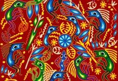 Ornement ethnique tribal Images libres de droits