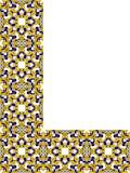 Ornement faisant le coin persan Images libres de droits